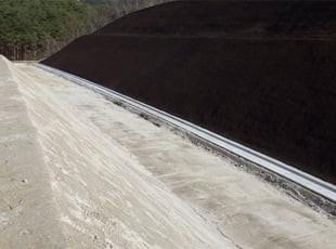 石田川地区道路改良工事